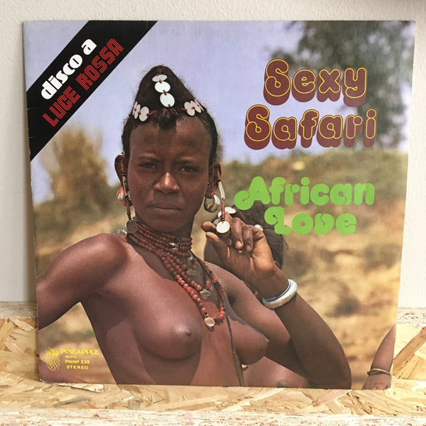 The Afro-Rhythm Group ‎– Sexy Safari / African Love
