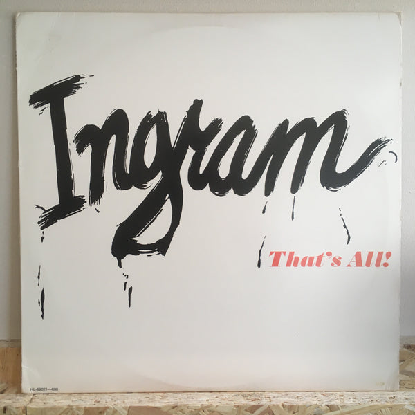 Ingram - That's All