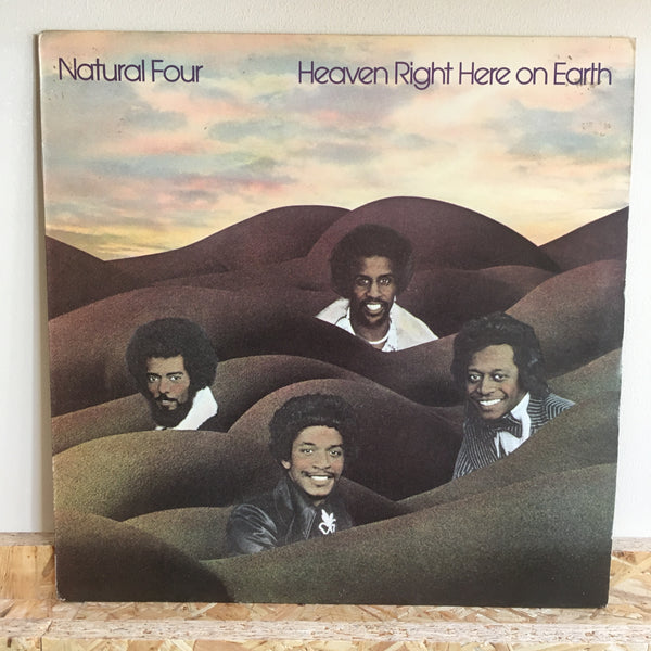 Natural Four ‎– Heaven Right Here On Earth