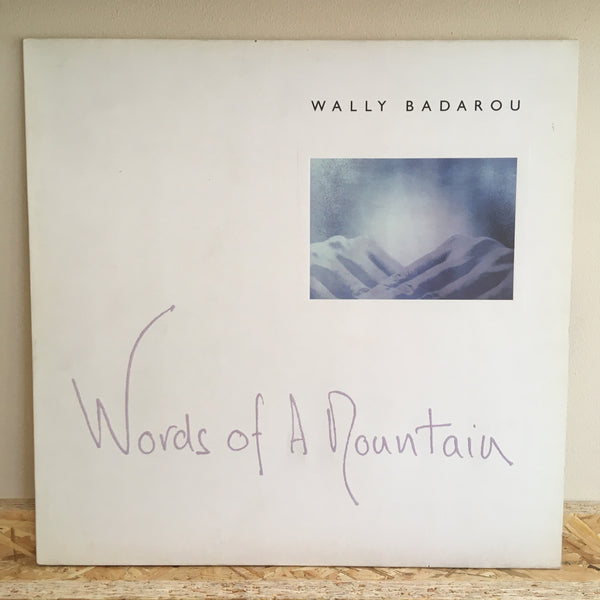 Wally Badarou ‎– Words Of A Mountain
