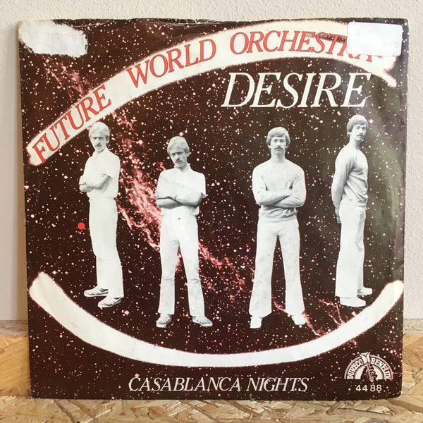 Future World Orchestra ‎– Desire / 	Casablanca Nights