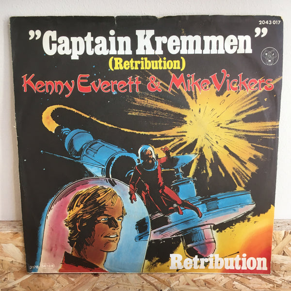 Kenny Everett & Mike Vickers ‎– Captain Kremmen