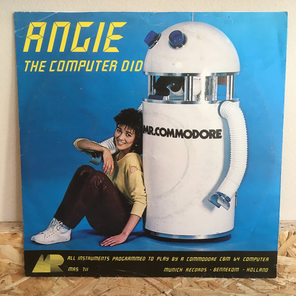 Angie ‎– The Computer Did