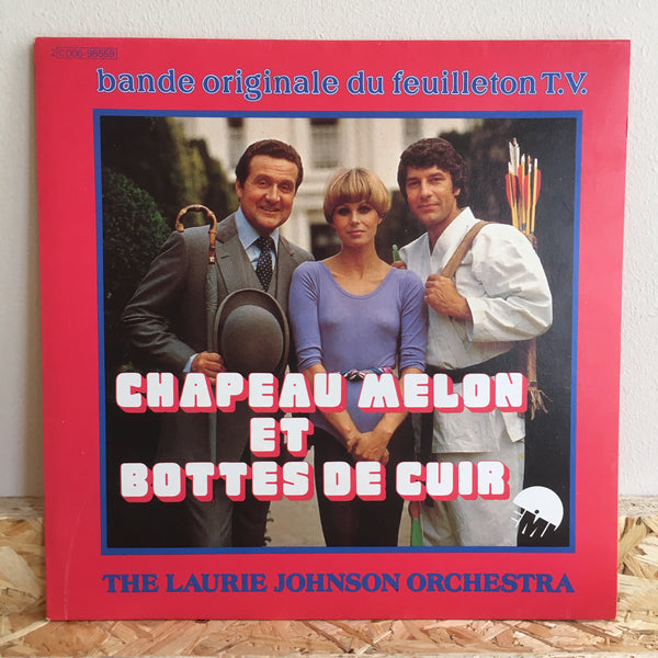 The Laurie Johnson Orchestra ‎– L'Homme Au Chapeau Melon