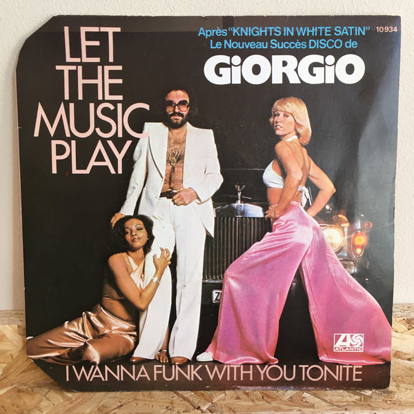 Giorgio ‎– Let The Music Play