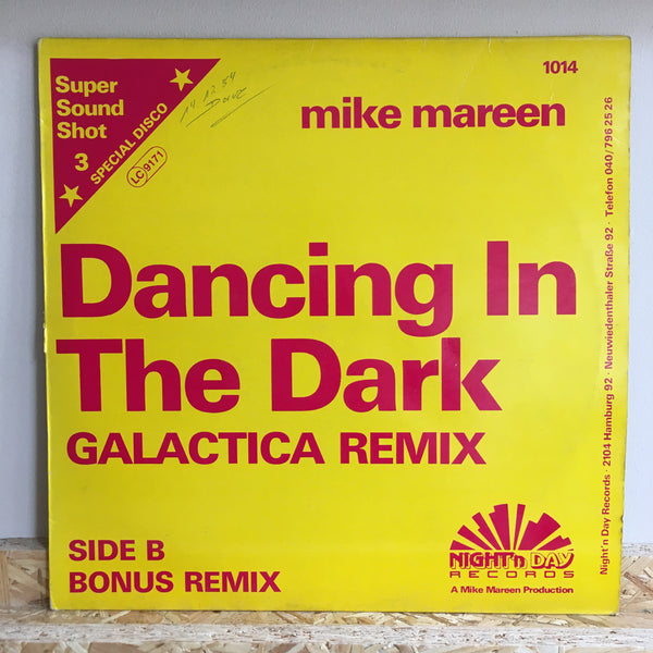 Mike Mareen ‎– Dancing In The Dark (Galactica Remix)