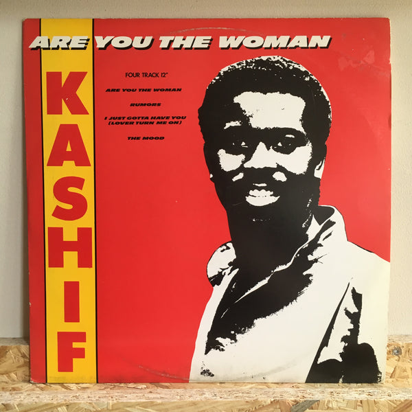 Kashif ‎– Are You The Woman - Four Track 12""