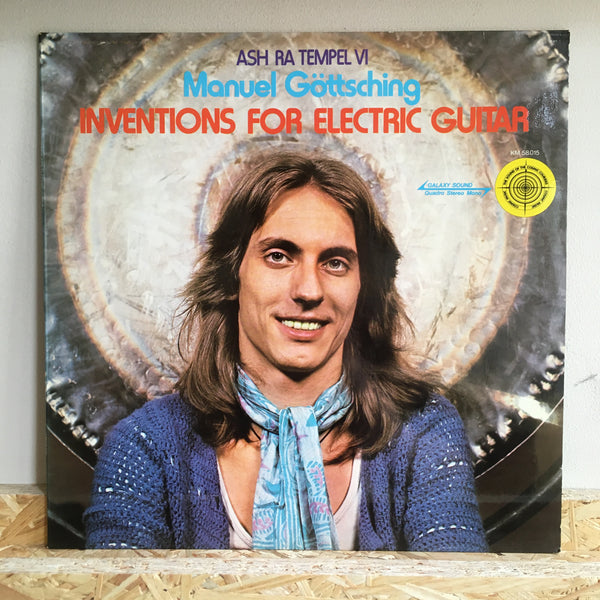 Manuel Göttsching, Ash Ra Tempel ‎– Inventions For Electric Guitar