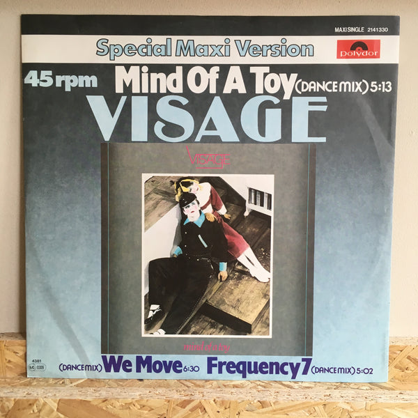 Visage ‎– Frequency 7 ( Dance Mix )