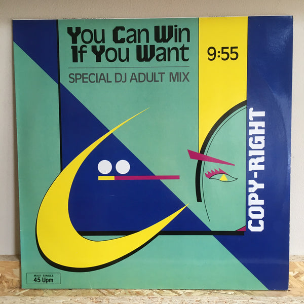 Copy-Right ‎– Paradise Is Half As Nice/You Can Win If You Want