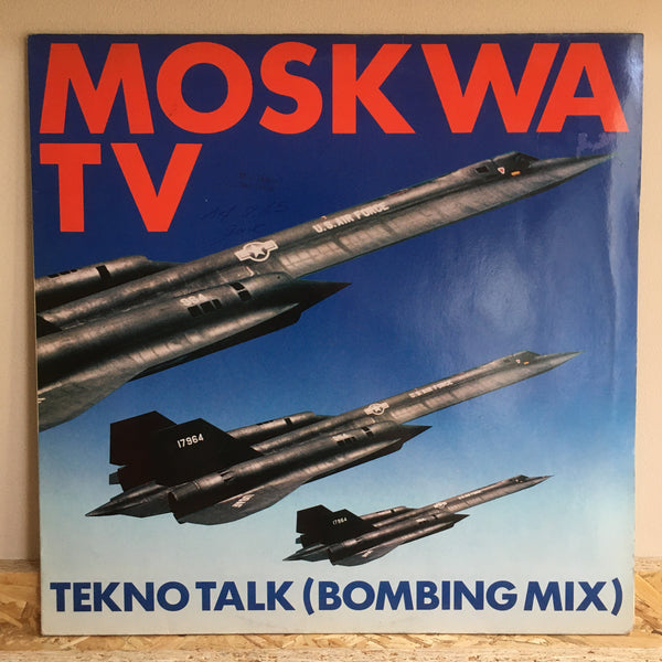 Moskwa TV ‎– Tekno Talk (Civilian Play)