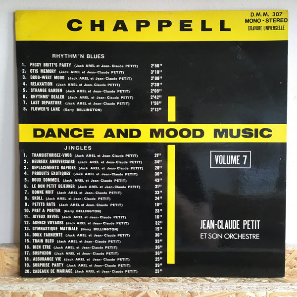 Jean-Claude Petit Et Son Orchestre ‎– Dance And Mood Music Volume 7