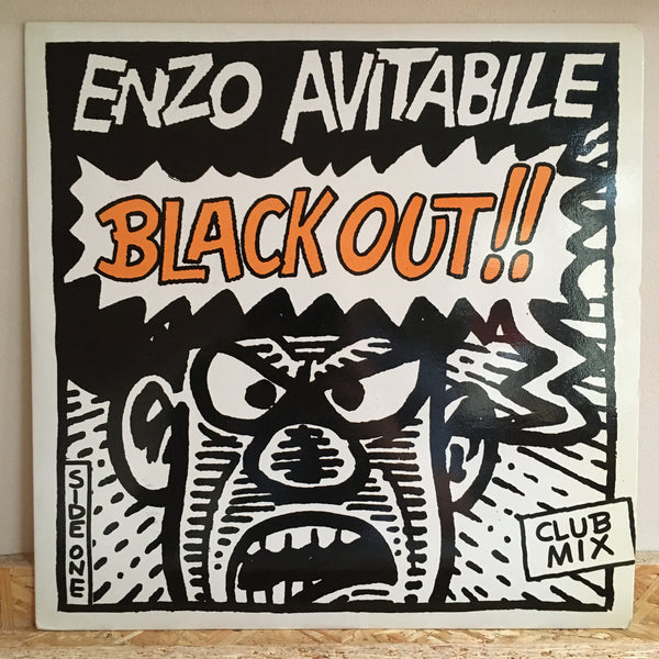 Enzo Avitabile ‎– Black Out *Spanish Press