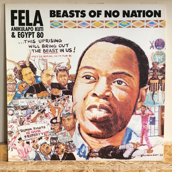 Fela Anikulapo Kuti & Egypt 80 ‎– Beasts Of No Nation