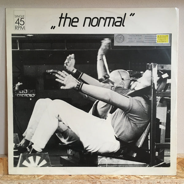 The Normal ‎– Warm Leatherette / T.V.O.D.