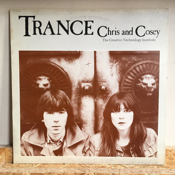 Chris And Cosey ‎– Trance *Italy Press