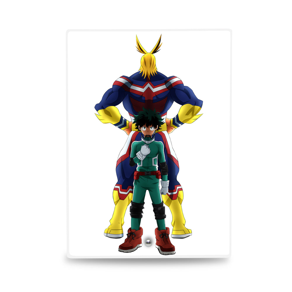My Hero Academia – Portrait Glass Frame with Stand