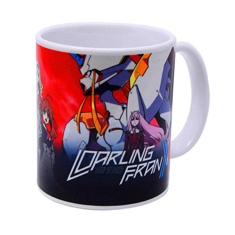 Darling in The Franxx - Ceramic Handmade Mug - Anime Senpai