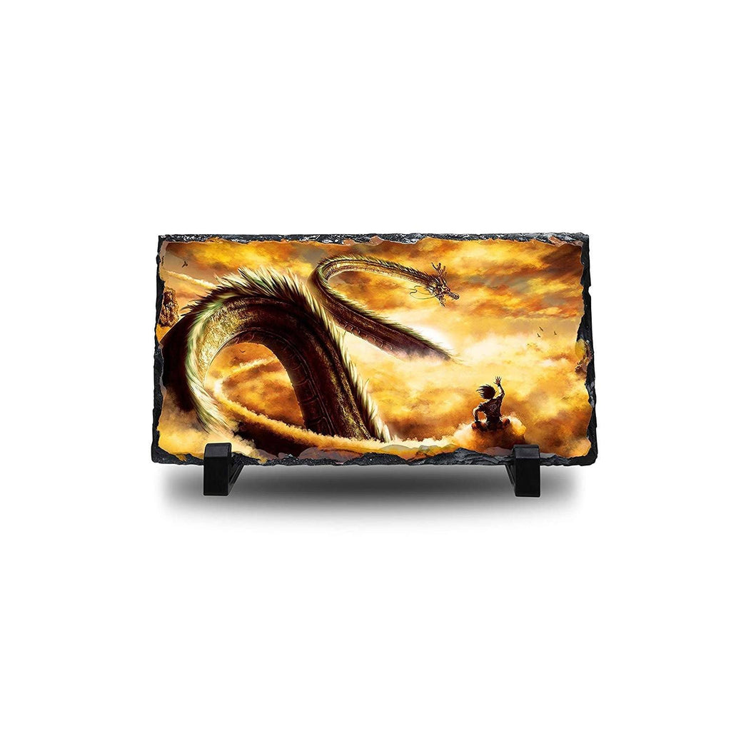 Dragon Ball Z - Shenron Natural Rock Slate with Stand - Anime Senpai