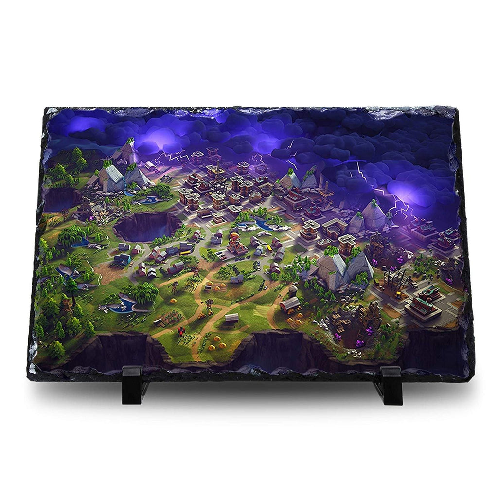 Fortnite - Map Natural Rock Slate with Stand - Anime Senpai