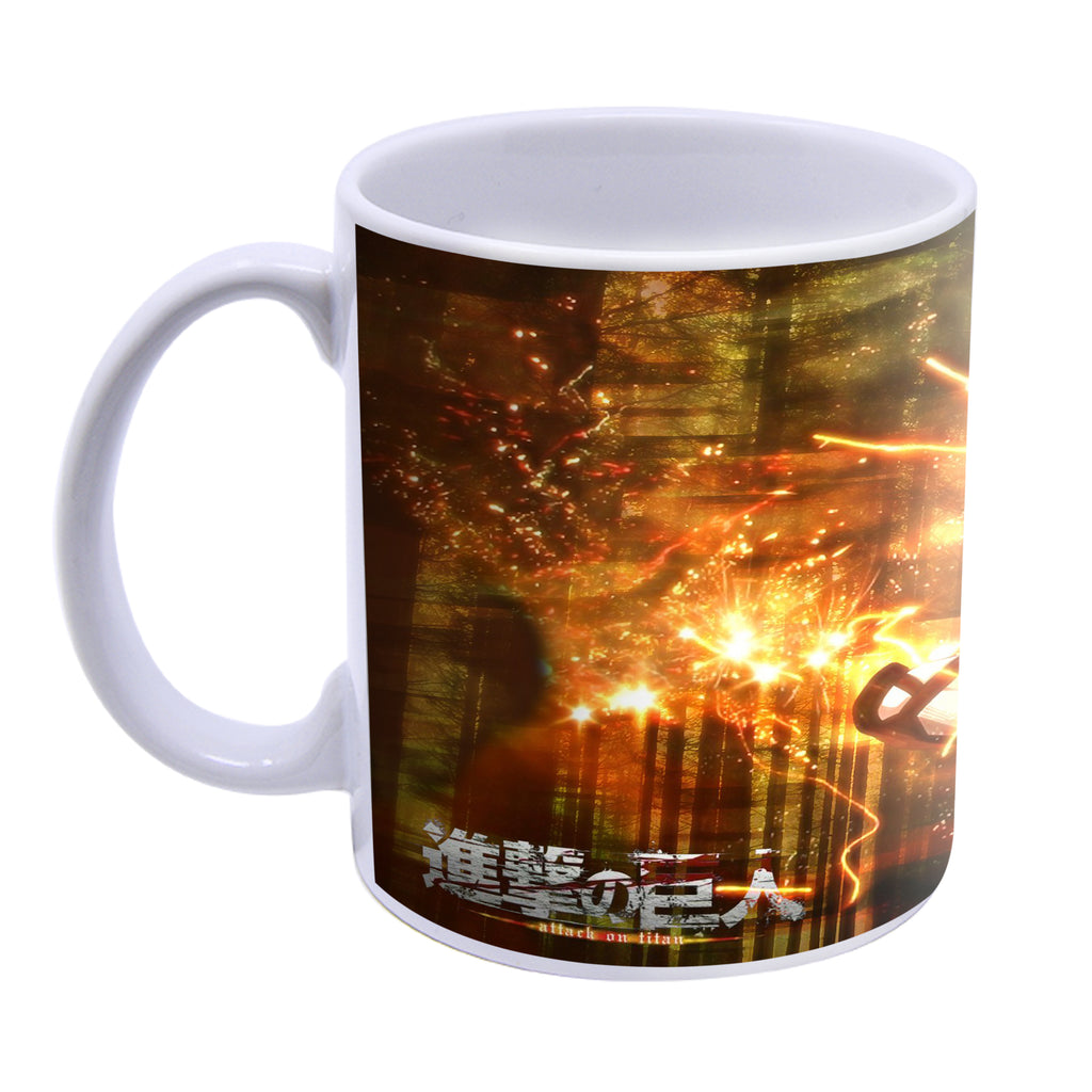 Attack on Titan - Levi Ackerman Ceramic Handmade Mug