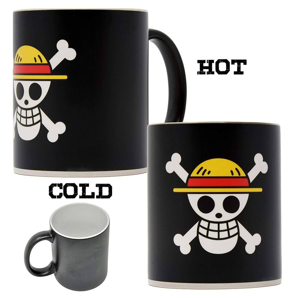 One Piece - Straw Hat Pirates Flag Heat Changing Magic Mug - Anime Senpai