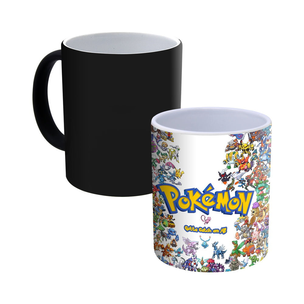 Pokemon - Heat Changing Magic Mug