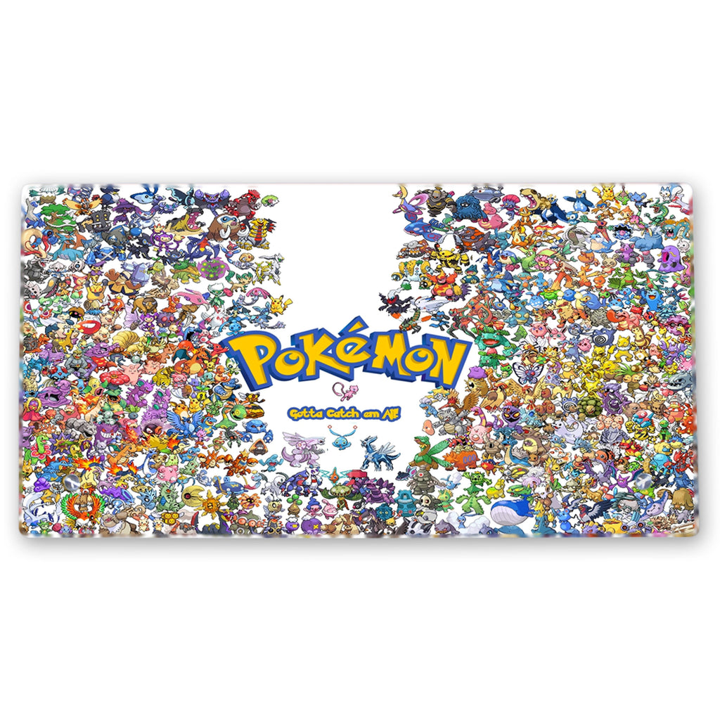 Pokemon – Glass Frame with Stand - Anime Senpai