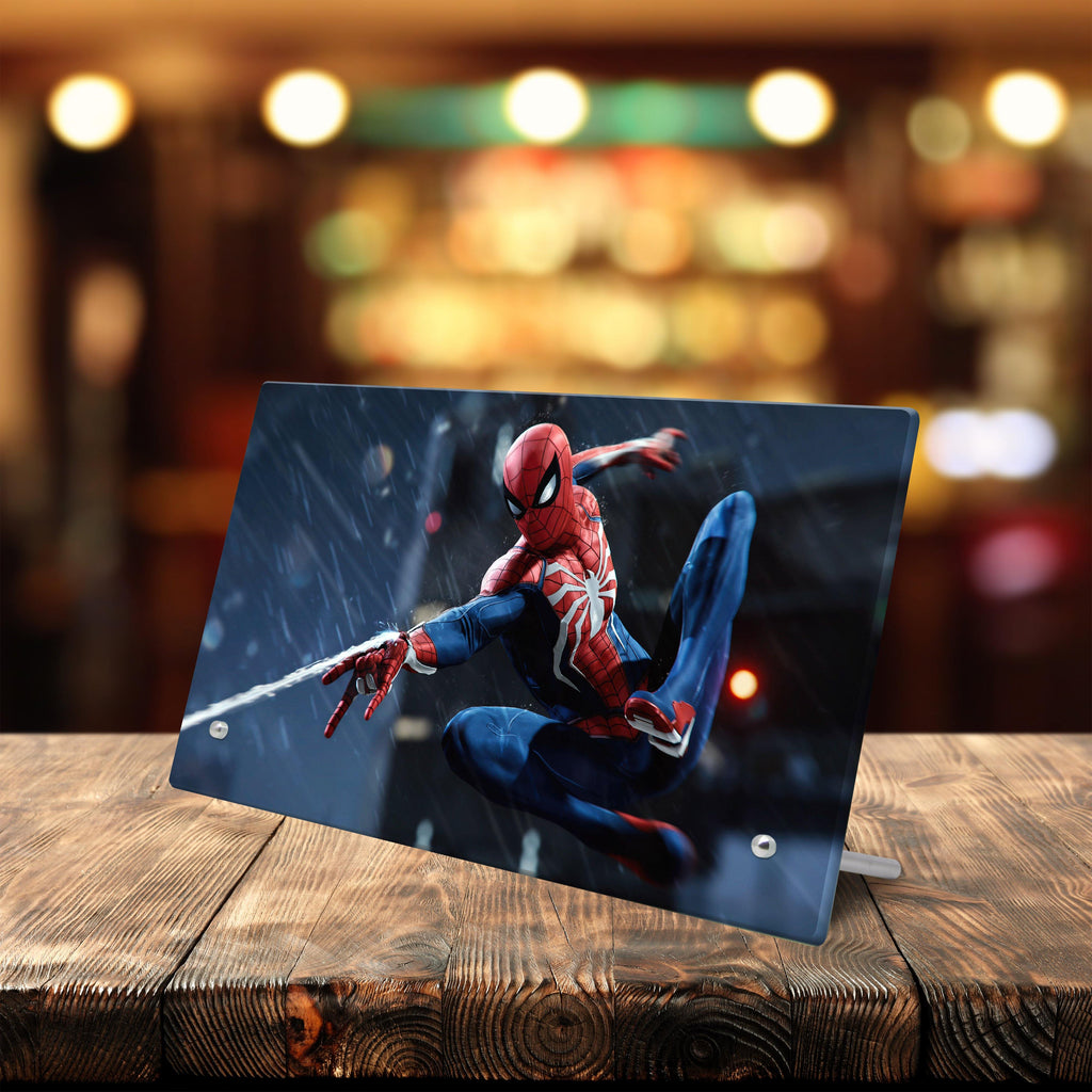Spider Man – Glass Frame with Stand - Anime Senpai