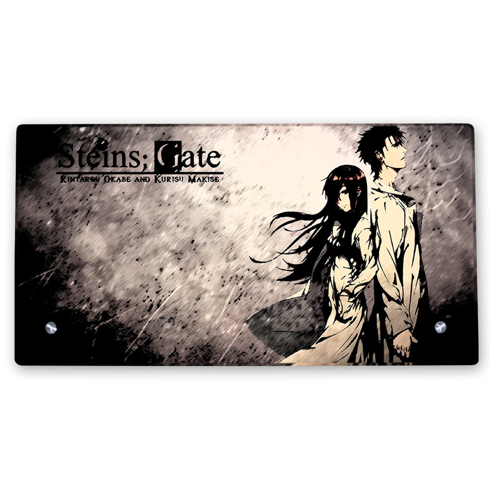 Steins Gate – Glass Frame with Stand - Anime Senpai
