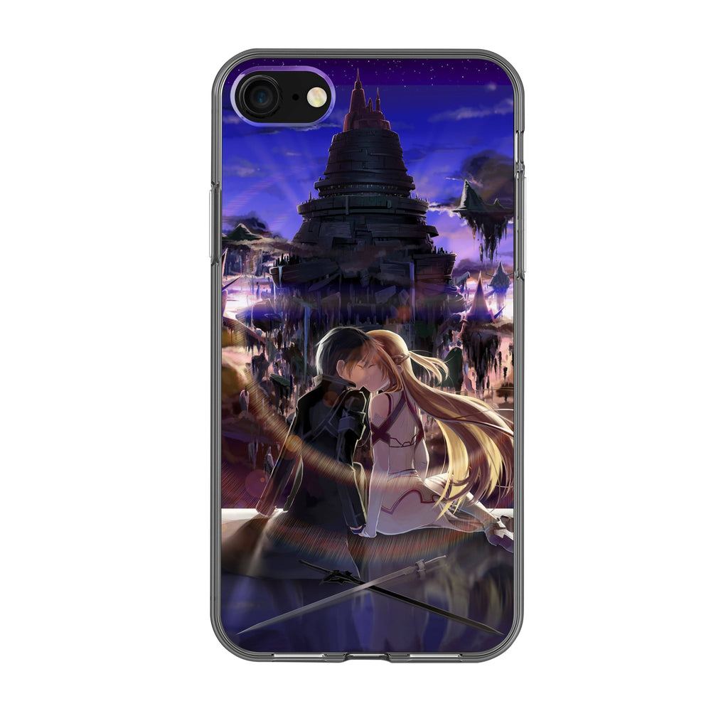 Sword Art Online - Kirito and Asuna Phone Case - Anime Senpai