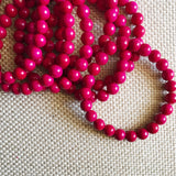 Grab and Go (magenta bracelet)