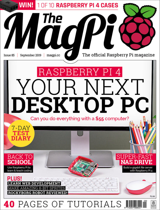 Good Read: MagPi Magazine Issue 85