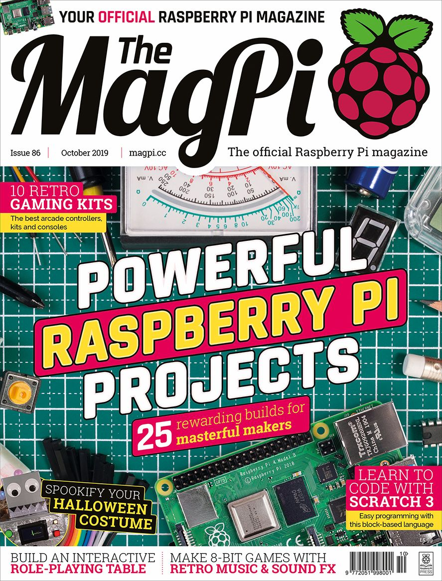Good Read: MagPi Magazine Issue 86