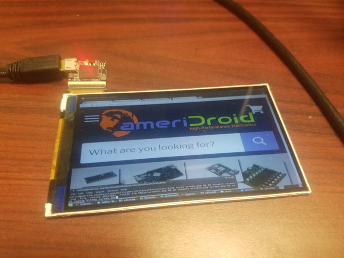 New Product: 4.1 inch 800x480 USB2 Display for any system!
