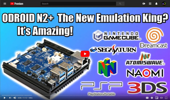 Watch: ODROID-N2+ Emulation Tests by ETA Prime (Retro Gaming)