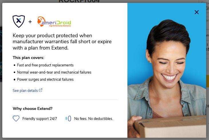 News: ameriDroid Partners with Extend to Offer Product Warranties on Most Products!