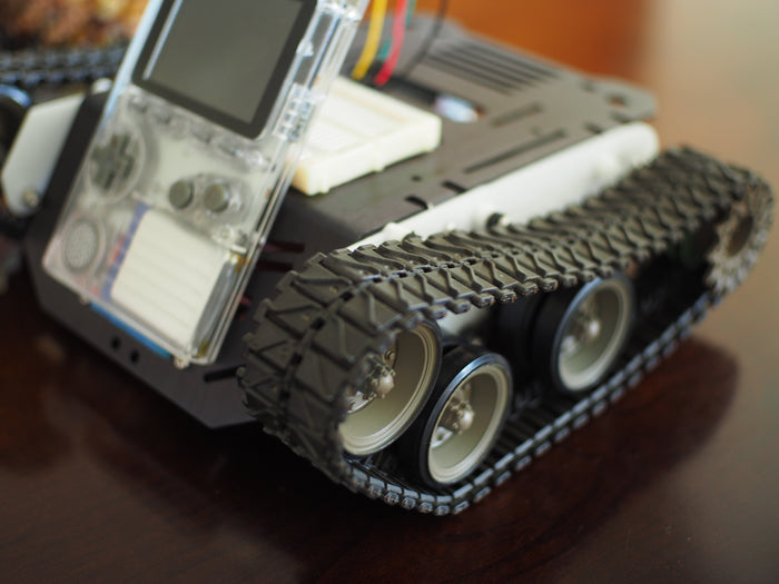 How-To: Build a Tank Robot with an ODROID-GO