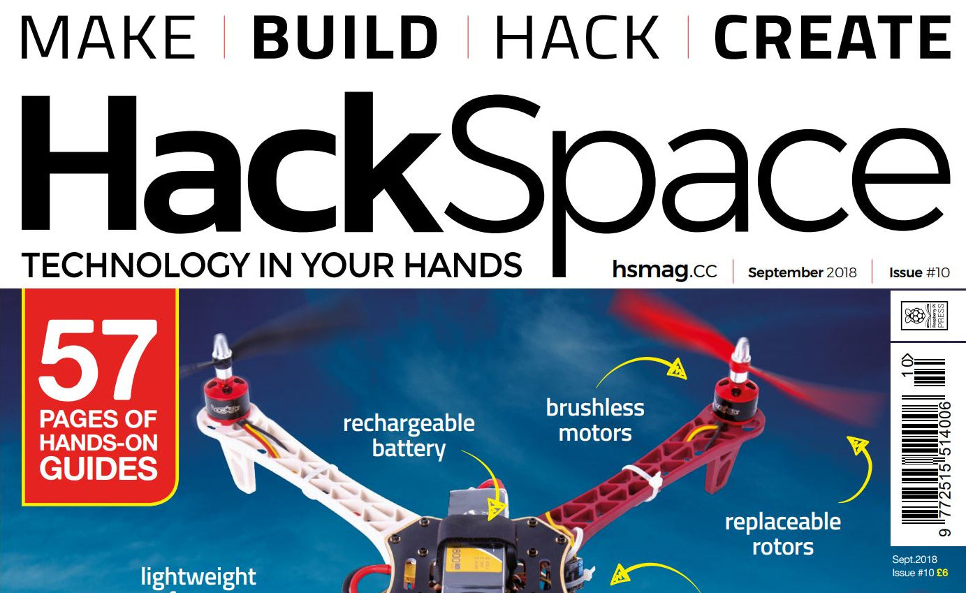 Good Read: HackSpace Magazine #10