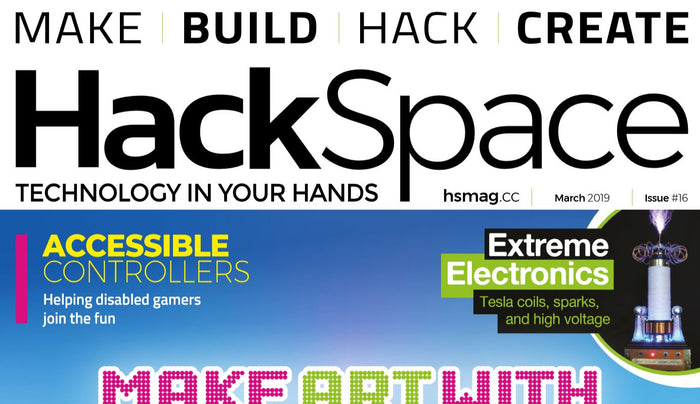 Good Read: HackSpace Magazine #16
