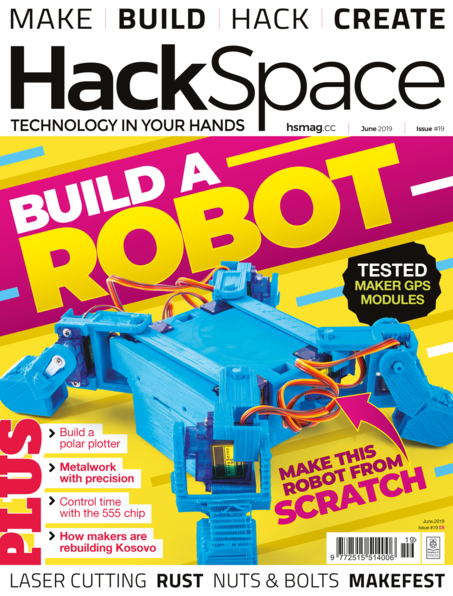 Good Read: HackSpace Magazine #19