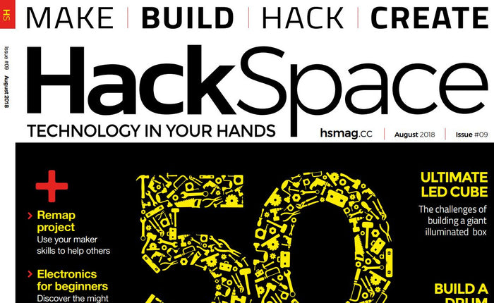 Good Read: New HackSpace Magazine #9