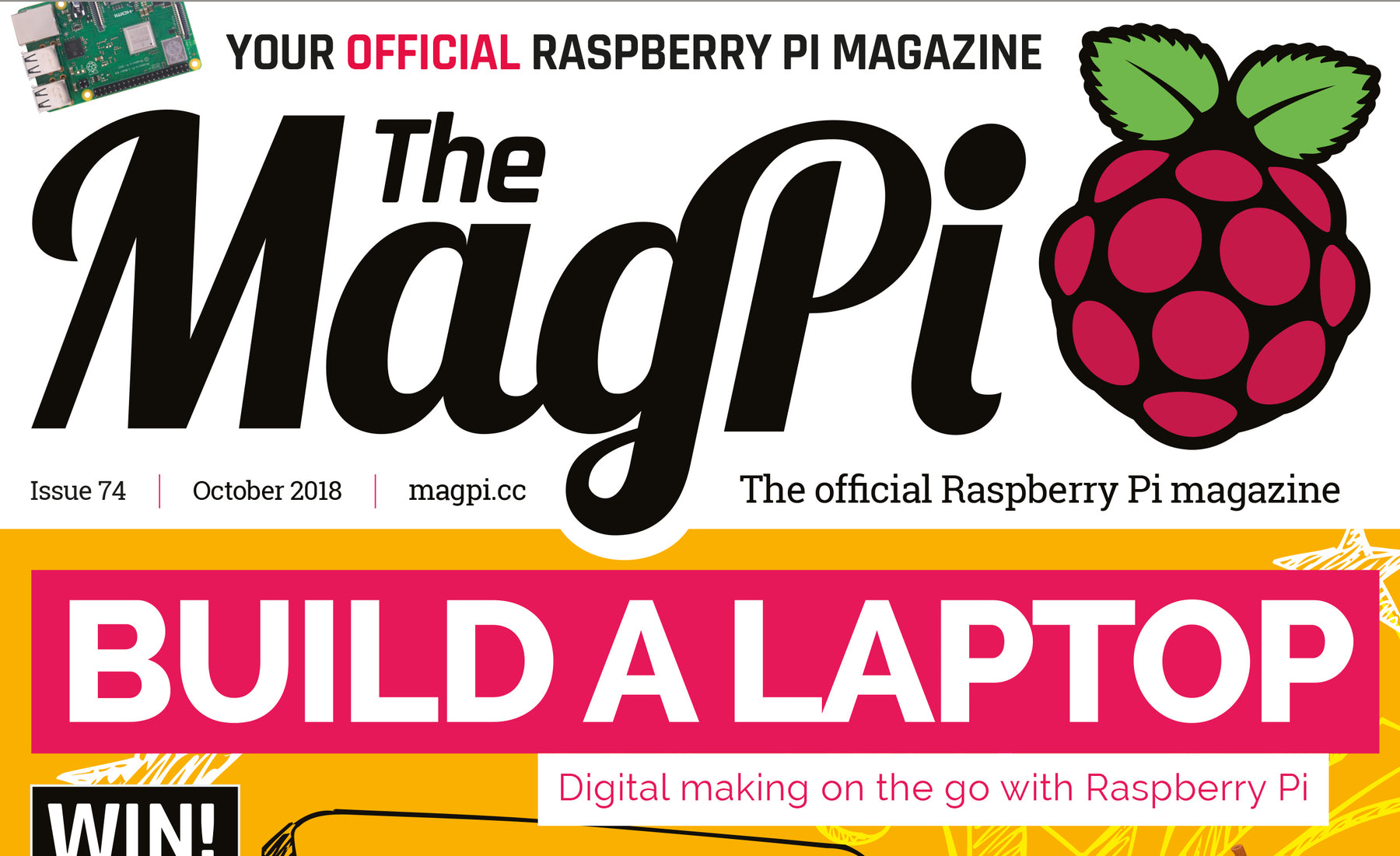 Good Read: MagPi Magazine Issue 74