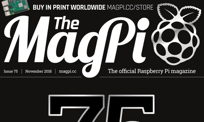 Good Read: MagPi Magazine Issue 75