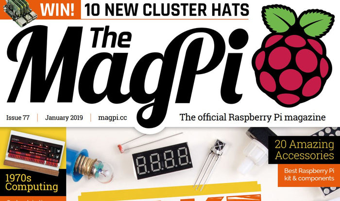 Good Read: MagPi Magazine Issue 77