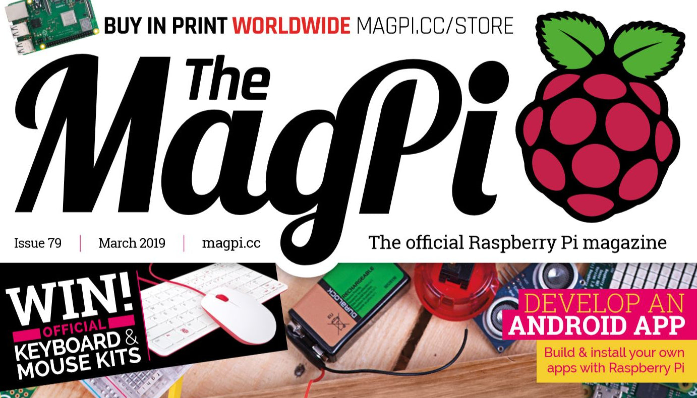Good Read: MagPi Magazine Issue 79