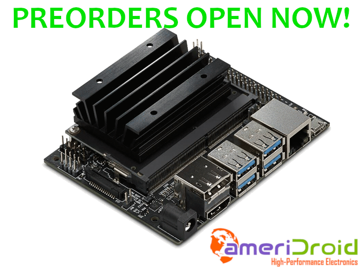 Upcoming Product: NVIDIA Jetson Nano Preorders Open Now