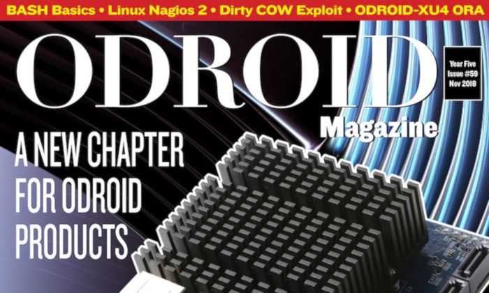 Good Read: November 2018 Issue of ODROID Magazine