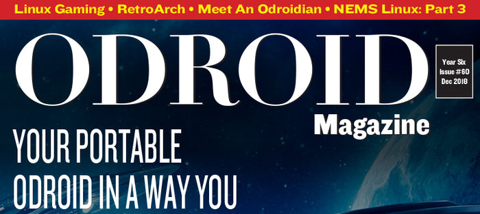 Good Read: December 2018 Issue of ODROID Magazine