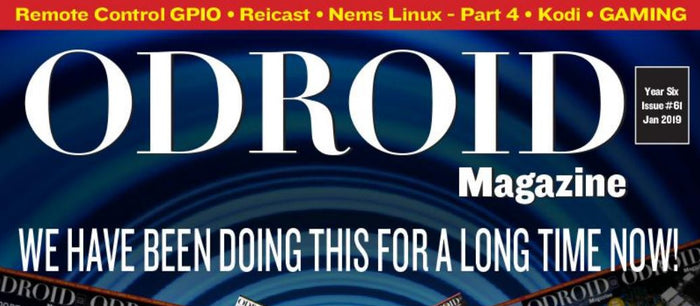 Good Read: January 2019 Issue of ODROID Magazine